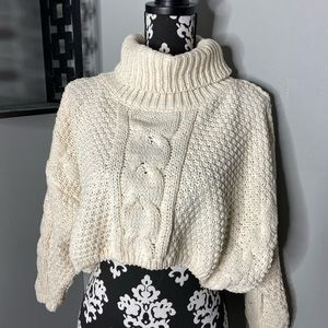 Forever 21 Cropped Turtle neck